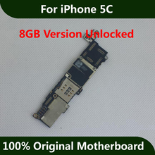 For iPhone 5C Motherboard 8GB 100% Original Unlocked Good Working Mainboard Full Function logic board With Chips IOS Installed(China)
