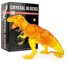 New Arrival 3D Dinosaur Crystal  Puzzle  Animal Assembled Model DIY Educational Toys Kid's Gift Home Decoration
