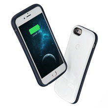 2200mAh External Backup Battery Charger Case Extended Rechargeable Power Bank Case Cover for iPhone 6 6S(China)