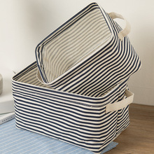2017 New Foldable Non-Woven Fabric Desk Top Cosmetics Storage Box Office Stationery Storage Small Objects Basket Organization(China)