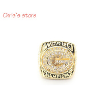 New Sport 1996 Brett Favre Green Bay Packers Super Bowl Championship Rings High Quality Replica Punk Style Ring(China)
