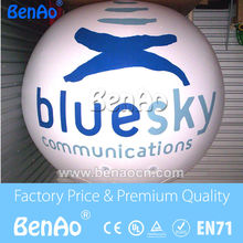 AO069 Free shipping 2m  commercial promotional balloon / inflatable light helium balloon/Inflatable sky balloon