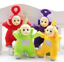 4Pcs/Set 25cm  Authentic Teletubbies Plush Toy Stuffed Doll Super Quality Children Christmas Birthday