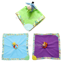 Eeyore Donkey Bear Tigger Tiger Heffalump Baby Snuggle Security Blanket Blankie Blanky Plush Toy Newborn Animal Towel for Kids(China)