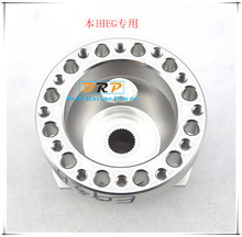 Hot! The aluminum cnc racing drift Steering Wheel Hub Adapter Boss Kit for Honda civic EG between1992 to 1995