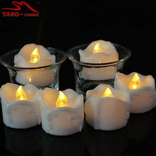 Battery Operated Romantic LED Tealight Candles(not Include Holder) for Wedding Decoration