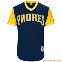 MLB Men's San Diego Padres Allen Cordoba Baseball Navy 2017 Players Weekend Authentic Jersey(China)