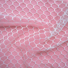 1 Yard Honeycomb Tulle Fabric Tutu DIY Skirt Gift Craft Party Bow Voile Wedding Party Decoration Mesh Fabric