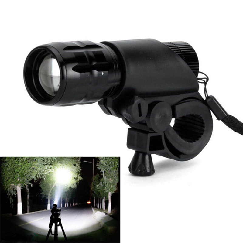 New bycicle light 7 watt 2000 Lumens 3 Mode bicycle Light set CREE Q5 led Bike Front Head Light Torch Lamp with Mount(China (Mainland))