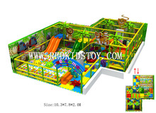 Exported to Spain Kids Playground Indoor CE Certified Playground Equipment 160109d