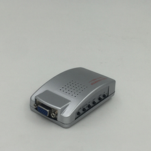 High quality VGA to s-video conversion support 3D for AV/S Video STB DVR DVD PC Notebook Mac computer Projector(China)