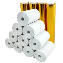 "2 1/4"" x 30' Coreless Thermal Paper (20 Rolls) mobile pos machine paper 57x30 cash register paper(China)"