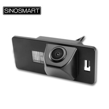 SINOSMART In Stock HD Car Parking Reverse Camera for Audi Q3 Q5 A4 A1 S6 S7 RS5 A6 TT A5 with Factory Original Size LED Lamp
