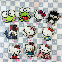 1 Piece Cartoon Frog Acrylic Badge For Clothing Shoes Backpack Pin Brooch Hello Kitty Lable Pin Scarf Female/Male Accessories(China)