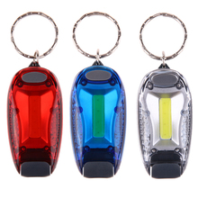 3 Modes LED COB Bike Light Bicycle Handbar Light Safety Warning Helmet Running Lamp Outdoor Keychain Flashlight With Clip