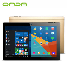 "Onda OBook20 Plus Tablet PC 10.1"" 1920*1200 IPS Screen 4GB+64GB Windows10 & Android 5.1 Intel Z8300 WiFi IPS OTG 2in1 Tablet PC"
