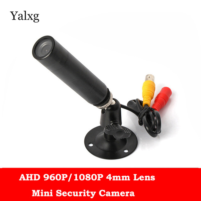 960P/1080P AHD HD Mini Black Bullet NVP2431+Sony IMX225/NVP2441+Sony IMX323 1.3M/2.0M AHD Camera Wired Color CCTV Camera<br>