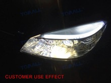 "FINAL SALE 18"" 4.5W 45cm LED Tube DRL Daytime Running Light and Steering Lamp White turn Yellow"