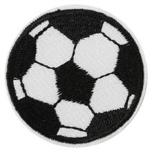 10Pcs Football Shape Applique Sew Clothes Paste Sewing Patches Iron On Embroidered DIY Labels Backpack Sticker Sew Patches
