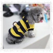 Nuevo Cute Dog Cat Pet Supplies Ropa Bumble Bee Costume Dress Up