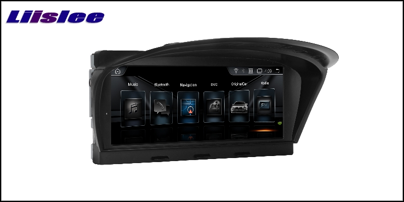 For BMW 5 E60 E61 2003~2010 LiisLee Car Multimedia GPS Audio Hi-Fi Radio Stereo Original Style For CIC Navigation NAVI 4