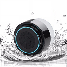 Waterproof bluetooth speaker shower bath sucker Suction Cup portable active subwoofer car parlante mobile support altavoz ducha