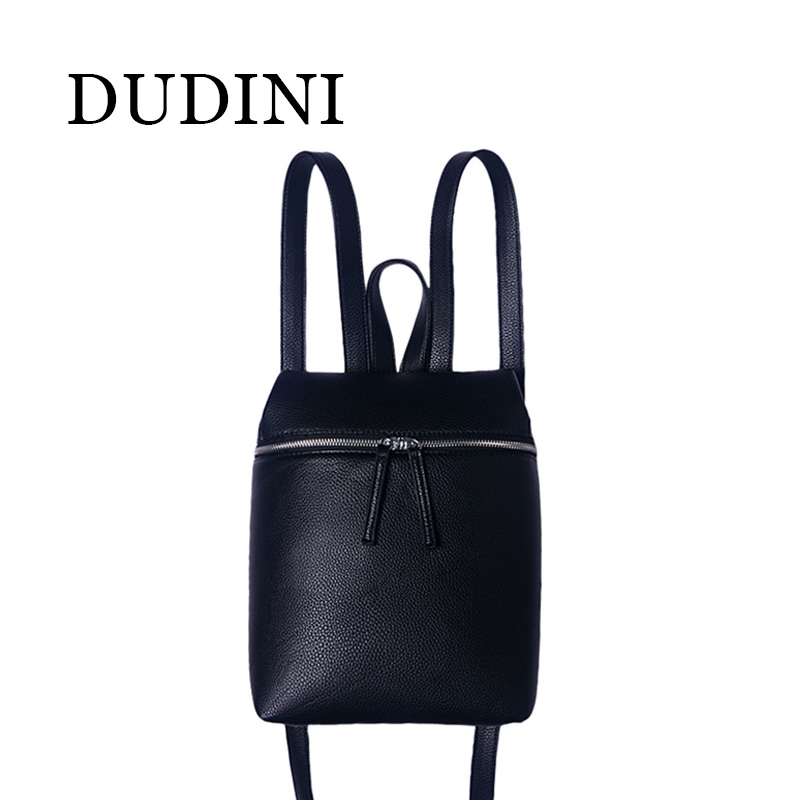 DUDINI Simple Style Designer Women Backpack White &amp; Black Lady Travel PU Leather Backpacks Fashion Female Rucksack Bag Mochila <br><br>Aliexpress