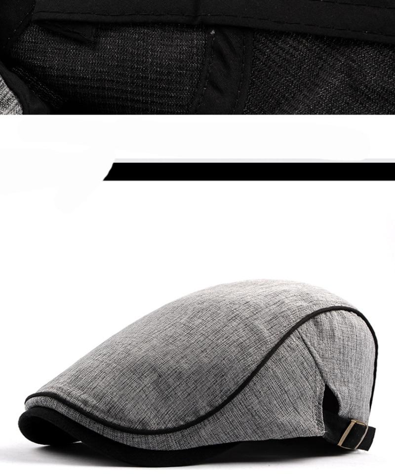 قبعة النمط الغربي للرجال 8