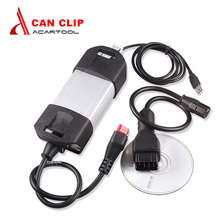 Newly V155 Renault Can Clip Full Chip OBD2 Diagnostic Tool Renault Can Clip Scanner With Multi-Languages Can Clip