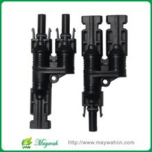 MAYLAR@ 25 Years Warranty 50 Pairs H Type MC4 Style Branch Connectors With CE, ROHS.Be Used Solar System