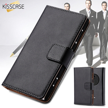 KISSCASE For Nokia 1020 Case PU Flip Leather Phone Cases For Nokia Lumia 1020 N1020 Business Men Card Slot Wallet Cover Pouch