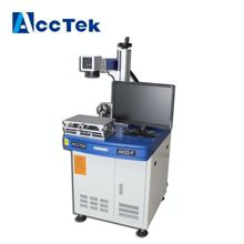 AccTek best selling protable fiber laser marking machine with CE standard(China)