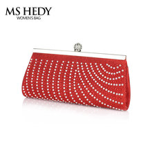 MS HEDY Shiny Woman Evening Cluth Bags Wrapped Stitching Geometric Pattern Dinner Shoulder Bags Bridesmaid Handbag(China)