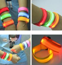 LED bracelets flashing wrist band for event party decoration glowing bracelet running gear LED lights wrist ring