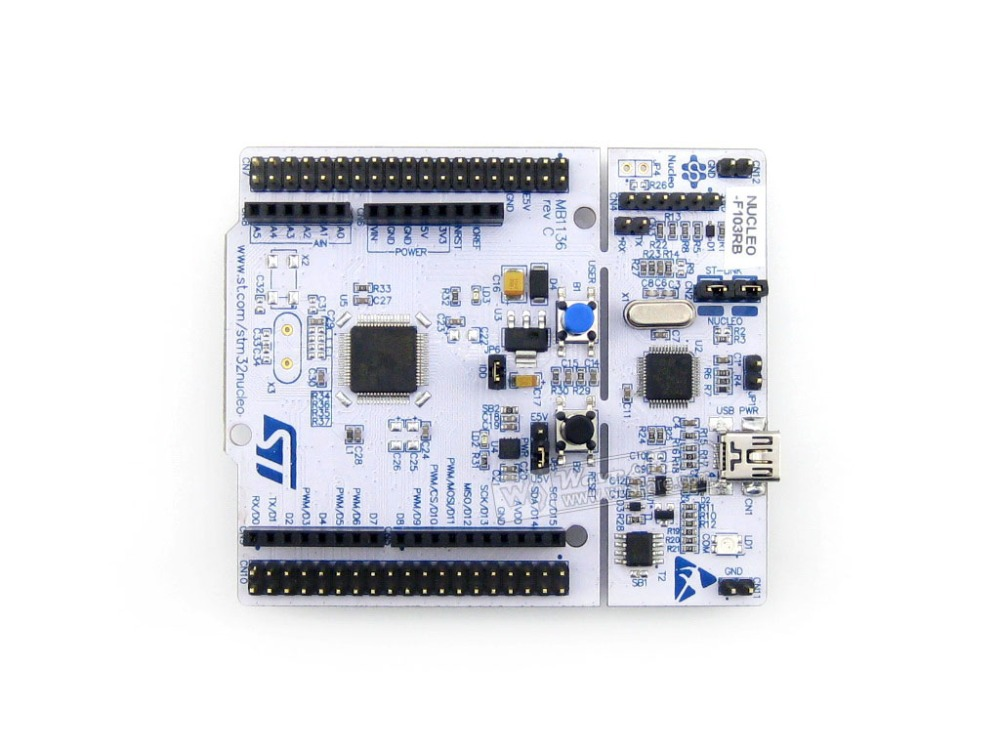 Modules STM32 NUCLEO-F103RB STM32F1 STM32F103 STM32 Development Board , Embedded ST-LINK Free Shipping<br><br>Aliexpress