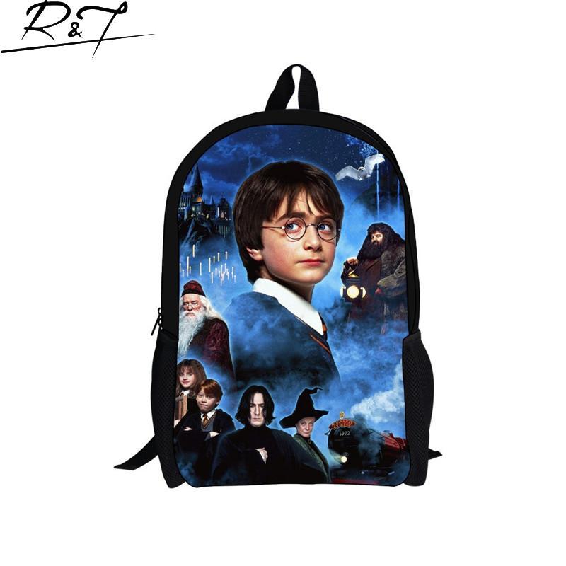 fashion Fashion Character harry potter school backpack bag,new design back packbag,children kids backpack free shipping<br><br>Aliexpress