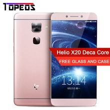 "Letv LeEco Le S3 X626 4G Mobile Phone 21.0MP 4GB RAM 32GB ROM Deca Core MTK6797 Android 5.5"" Fingerprint Cell phone"