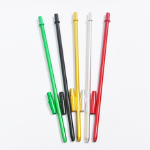 40cm 1set green/red/black/gold/silver Shisha aluminum long Handle Hookah Shisha Aluminum Head Hose gold Hose Handle Stem pipe