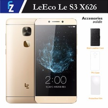 "LeEco Letv Le S3 Smartphone X626 4GB RAM 32GB ROM 5.5"" FHD Helio X20 Deca-core Android 6.0 4G Phone 21MP Camera Fingerprint"