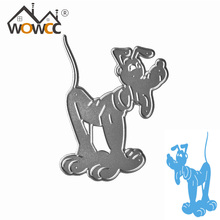 Metal cutting dies dog for Scrapbooking album invitation home decoration embossing stencils cut dies