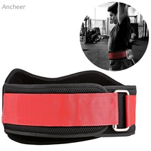 Buy Weight Lifting Belt Comfortable Lightweight Workout Training Protect Lumbar Back Waist Fitness Training Powerlifting for $14.13 in AliExpress store