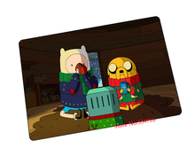 Adventure Time mouse pad  Christmas gift game pad to mouse notebook computer mouse mat brand gaming mousepad gamer laptop