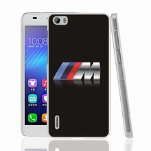 25982 racing 3m bmw Car Logo cell phone Cover Case for huawei honor 3C 4A 4X 4C 5X 6 7 8 mate V8 Y6