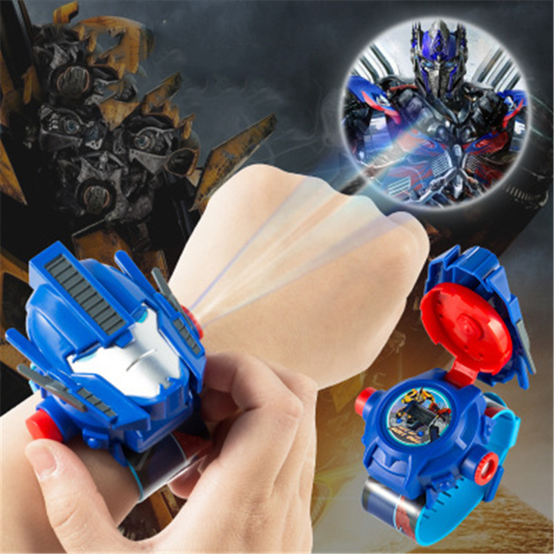 Digital Watches Electronic-Watch 3d-Projection Girls Boys Kids Children Fashion Relogio title=