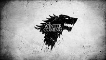 Game Of Thrones Stark flag 3x5ft 100D Flag Games suits decorate