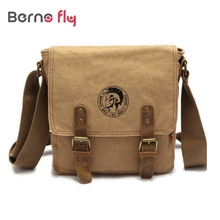 New brand desinger crossbody men bags Thick canvas bag high quality Casual men messenger bags fashion flap shoulder bags