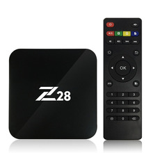 Z28 Android 7.1 TV Box RK3328 Quad Core 64Bit 2G 16G H.265 UHD 4K VP9 HDR 3D Mini PC Set Top Box WiFi With Remote Control