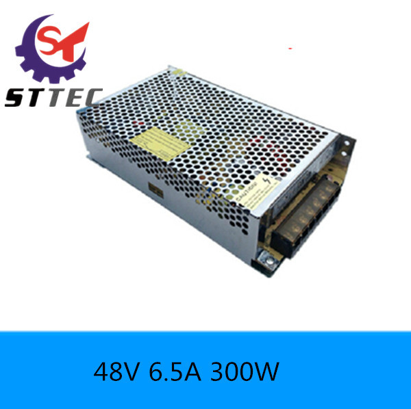 high quingity 300w Switching Power Supply 48v dc Electrical Equipment &amp; Supplies 6.5A Power Device  Free shipping<br>
