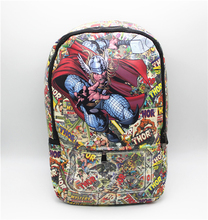 Thor bag cosplay Marvel Comics Backpack shoulder computer school Book Bag