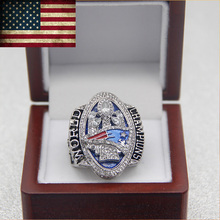 Drop Ship 2016-2017 New England Patriots Super Bowl LI Official Championship Rings For Julian Edelman(China)